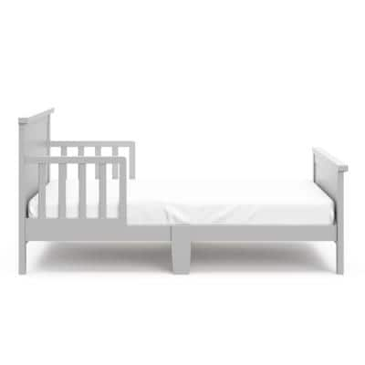 Bailey Pebble Gray Toddler Bed