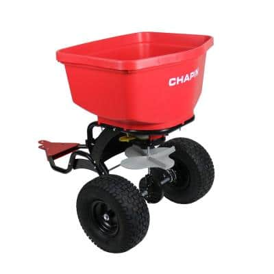 150 lbs. Tow Behind Spreader with Auto-Stop