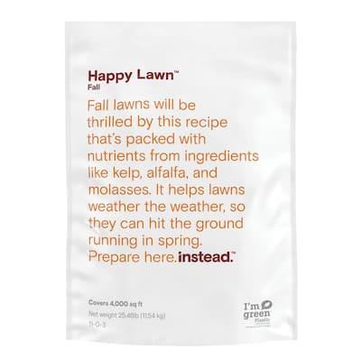 Happy Lawn 25.46 lbs. 4,000 sq. ft. Fall Dry Lawn Fertilizer
