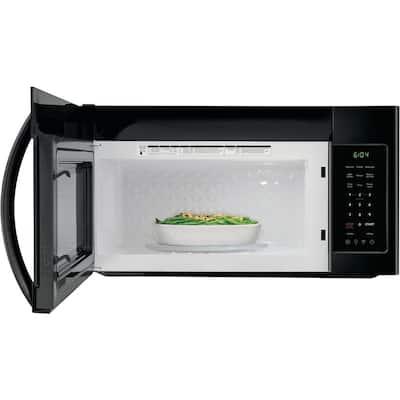 30 in. 1.8 cu. ft. Over the Range Microwave in Black
