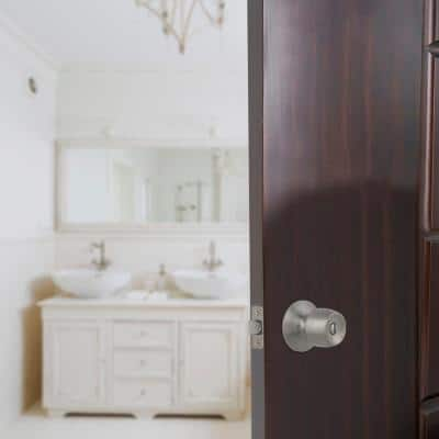 Brandywine Stainless Steel Bed and Bath Door Knob