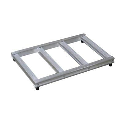 500 lb. Capacity 20 in. Wide Opening Mini Pallet for Hand Truck