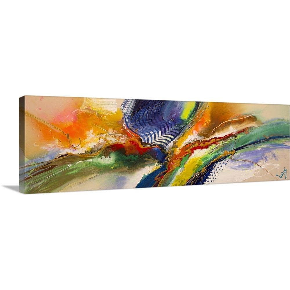 Greatbigcanvas 60 In X 20 In In The Groove Ii By Jonas Gerard Canvas Wall Art 2344714 24 60x20 The Home Depot