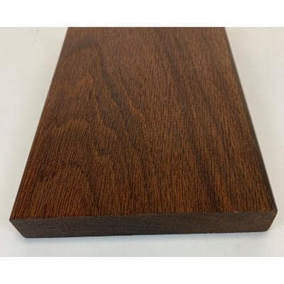 5/4 in. x 6 in. x 8 ft. Thermally-Treated Premium Oak 4-Sides Oiled Decking Board (8-Bundle)