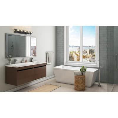 Italia Zen Bianco 12 in. x 24 in. Porcelain Floor and Wall Tile (16.68 sq. ft. / case)
