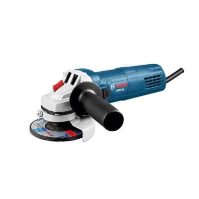 8.5 Amp Corded 4.5 in. Angle Grinder with Lock-On Slide Switch
