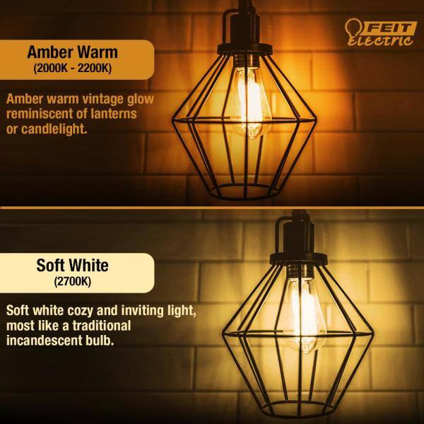 Vintage Light Bulb E14 40W Decorative Filament Bulbs Warm White 2700K Pack of 6 Dimmable E14 SES Small Screw Bulbs