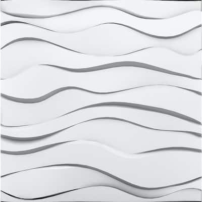 Zephyr 3/4 in. x 23-1/2 in. x 23-1/2 in. Seamless Foam Glue-Up Wall