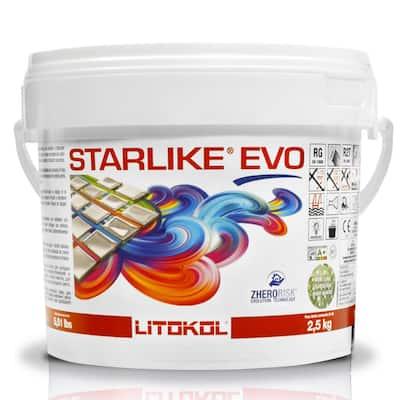 Starlike EVO Epoxy Grout 113 Neutro Base for Metallic Color 2.5 kg - 5.5 lbs.