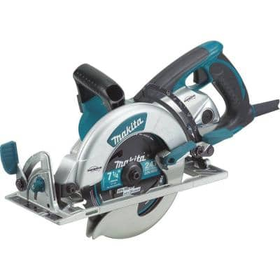 15 Amp 7-1/4 in. Corded Lightweight Magnesium Hypoid Circular Saw with built in fan and 24T Carbide blade