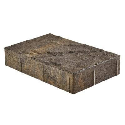 Taverna Rec 11.81 in. L x 7.87 in. W x 1.9 in. H Eddington Blend Concrete Paver (192-Piece/124 sq. ft./pallet)
