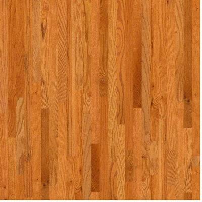 Woodale Carmel Oak 3/4 in. Thick x 2-1/4 in. Wide x Random Length Solid Hardwood Flooring (25 sq. ft. / case)