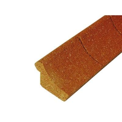 4 ft. Red Rubber Curb Landscape Edging (36-Count)