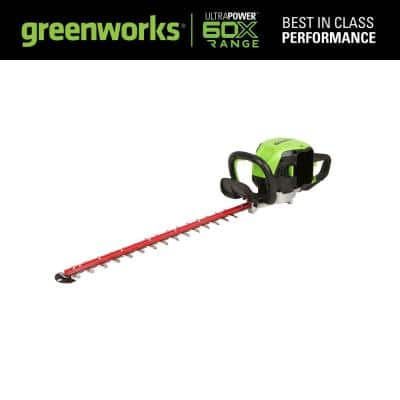X-Range 26 in. 60-Volt Battery Cordless Brushless Hedge Trimmer (Tool-Only)