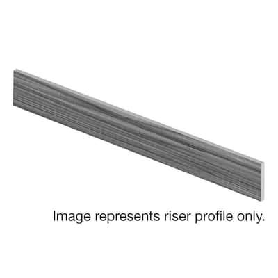 Glazed Oak / Soft Oak Glazed 94 in. Length x 1/2 in. T x 7-3/8 in. W Laminate Riser to be Used with Cap A Tread