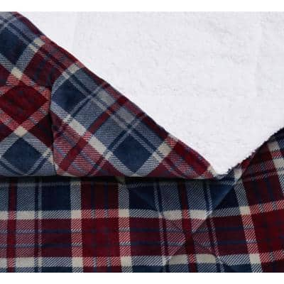 Cuddle Warmth Plaid Comforter Set