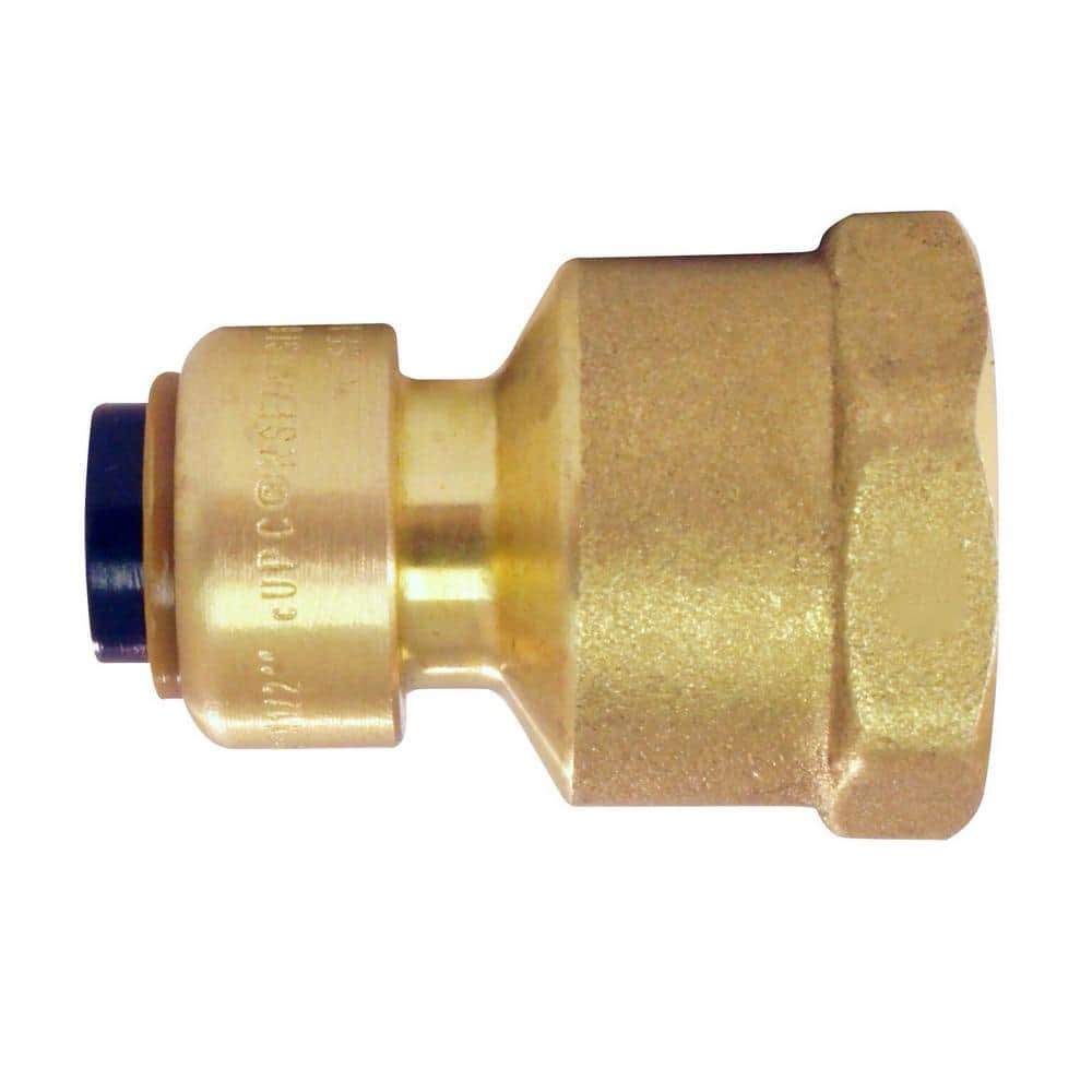 Tectite Push Fit Fitting T Piece for Copper Pipes D:15mm up to D:28mm Choice Of