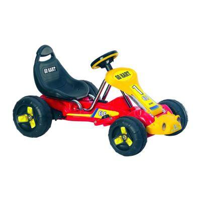 Battery Powered Ride on Toy Go Kart in Red