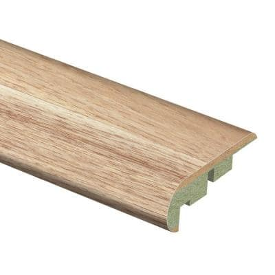 Natural Hickory 3/4 in. Thick x 2-1/8 in. Wide x 94 in. Length Laminate Stair Nose Molding