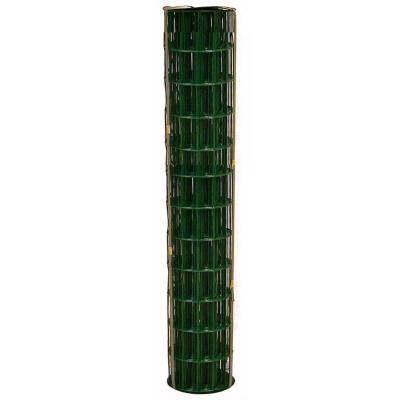 2 ft. x 50 ft. 16-Gauge Green PVC-Coated Welded Wire