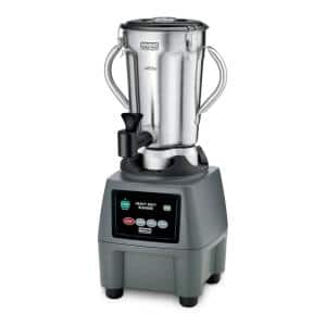 CB15 128 oz. 3-Speed Grey Blender with 3.75 HP and Electronic Touchpad Controls with Spigot
