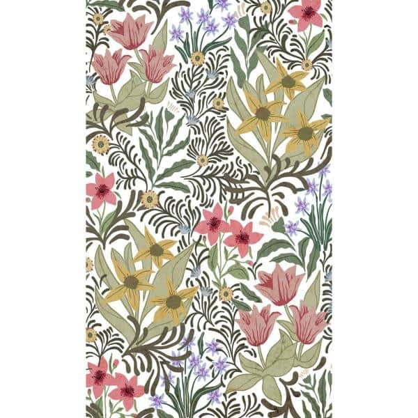 Smart Tiles Decorative Multi Laminated Kitchen Mat 20 In X 34 In Hg1654 20 34 The Home Depot