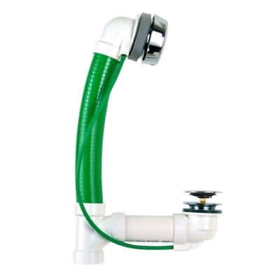 Innovator CableFlex 948 48 in. Flexible PVC Bath Waste in Chrome Plated