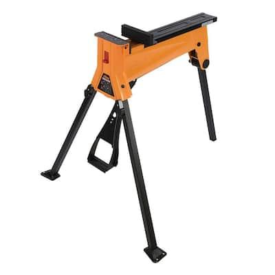 3.22 ft. x 2.83 ft. x 2.89 ft. Steel Work Platform 400.925 lbs. Capacity