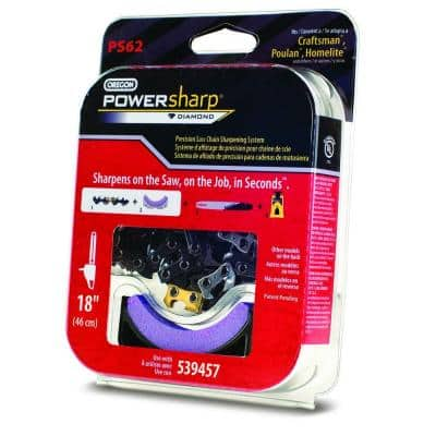 PowerSharp Saw Chain 18 in. 0.050-Gauge 3/8 in. Low Profile Pitch Chainsaw Chain, 62 Drive Links