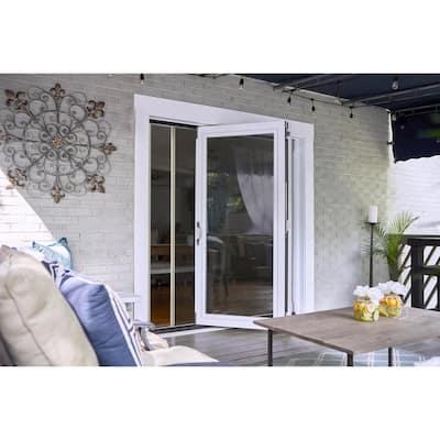Folding Fiberglass Patio Door