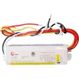 120-Volt 6.63 in. Electronic Ballast 3-PL 13-Watt Lamps
