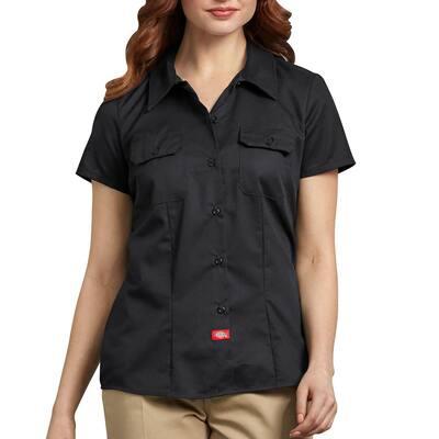 Women's Short Sleeve Work Shirt