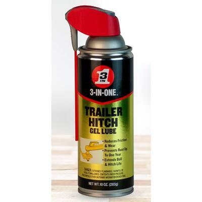 10 oz. Trailer Hitch Gel Lube with Smart Straw Spray
