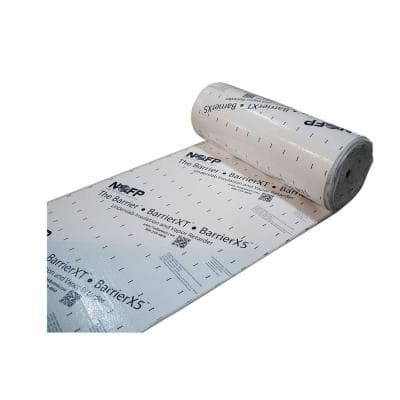 4 ft. x 96 ft. BarrierHL 1/4 in. Thick EPS Foam Insulation with Vapor Retarder (Case of 2)