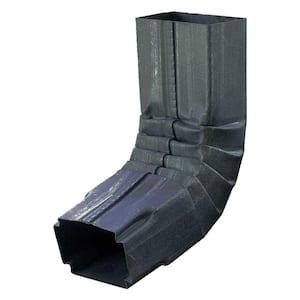 1-3/4 in. x 2-3/4 in. Bonderized Steel 75-Degree A-Style Downspout Elbow