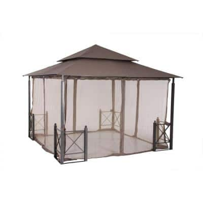 Replacement Netting Outdoor Patio for 12 ft. x 12 ft. Harbor Gazebo