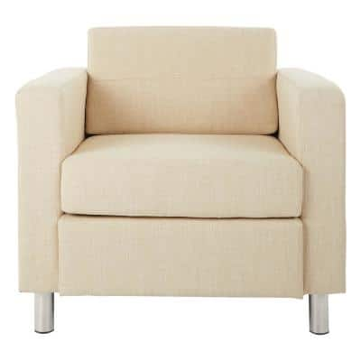 Pacific Cream Fabric Accent Chair
