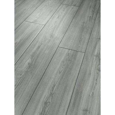 Sydney 7 in. W Fog Click Lock Luxury Vinyl Plank Flooring (18.91 sq. ft./case)