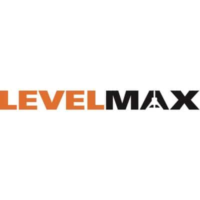 LevelMax Tile Anti-Lippage and Spacing System Top + Flat Stem with Pro Hinge Stabilizing Knee Pad