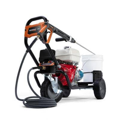 4000 PSI 3.5 GPM Cold Water Gas Pressure Washer with Honda Engine 50 ST