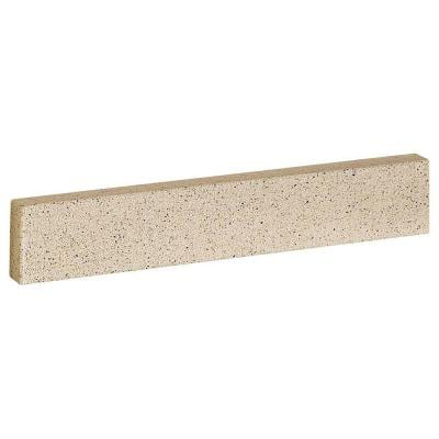 30-1/2 in. Solid Surface Technology Backsplash in Cappuccino