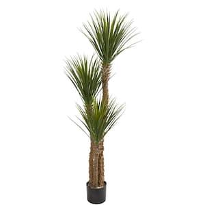 Indoor 57 in. Yucca Artificial Tree