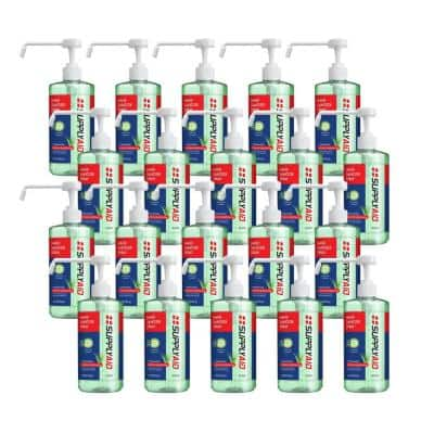 16 oz. Dual Action Hand Sanitizer Spray with Soothing Aloe (Case of 20-Bottles)