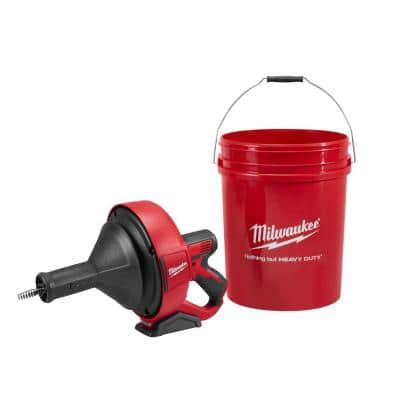 M12 12-Volt Lithium-Ion Cordless Auger Snake Drain Cleaning (Tool-Only)