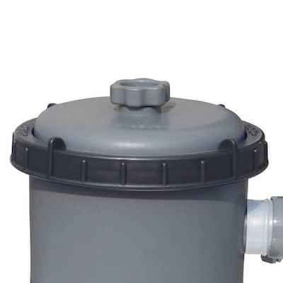 Flowclear 520 GPH; 300 Gal. to 2,220 Gal. pool Above Ground 3800 Gal. Pool Filter Pump