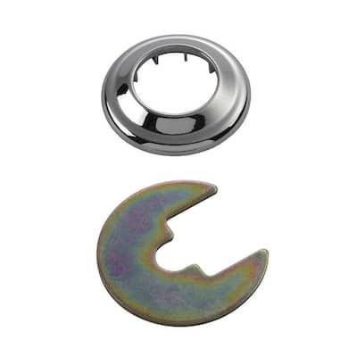 Replacement Filtration Faucet Flange Kit, Chrome