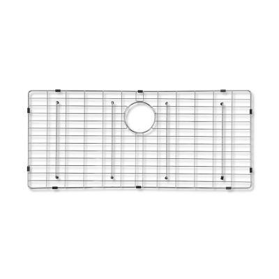 Adelphia 29-3/4 in. x 15-5/8 in. Wire Grid for Single Bowl Kitchen Sinks in Stainless Steel