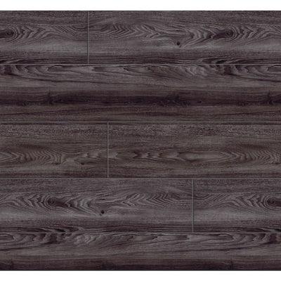 7.5 in. W x 47.6 in. L Black Oak Click-Lock Luxury Vinyl Plank Flooring (28 cases/692.72 sq. ft./pallet)