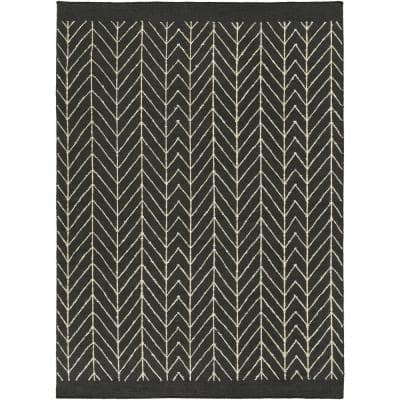 Alford White 5 ft. x 8 ft. Area Rug