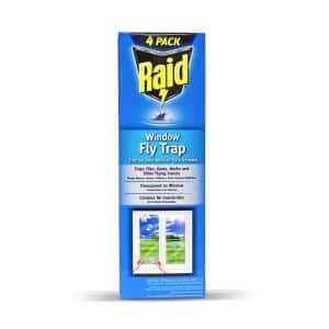 Window Fly Trap (4- Pack)